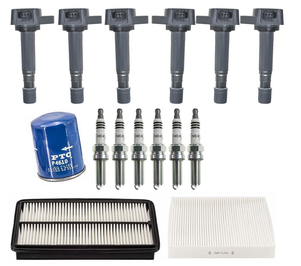 direct ignition coils spark plugs  u0026 filters for honda