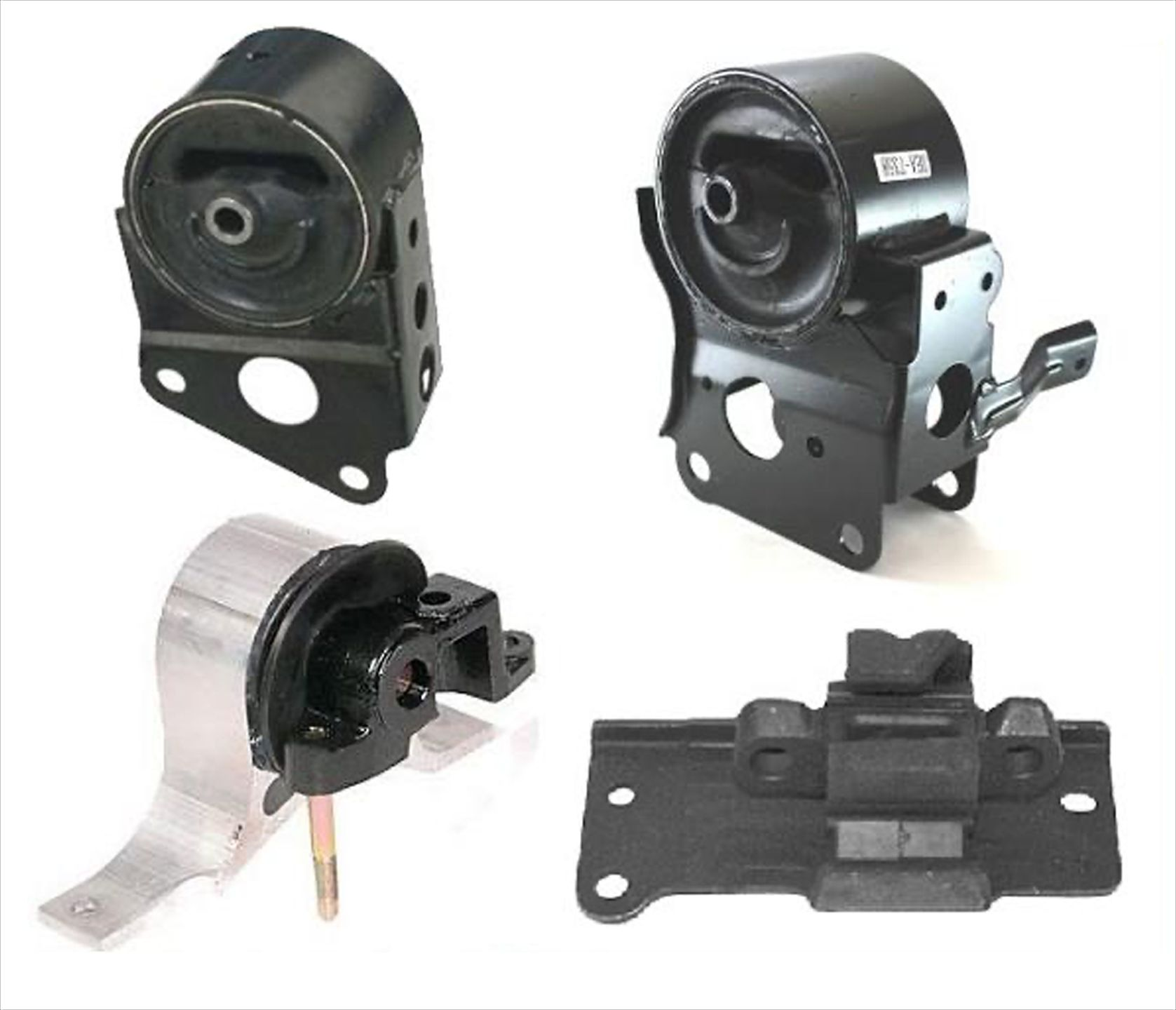 4pc Motor Mounts Set Kit for Automatic Transmission Only Engine Mounts Compatible with 03-07 Nissan Murano FWD 2WD
