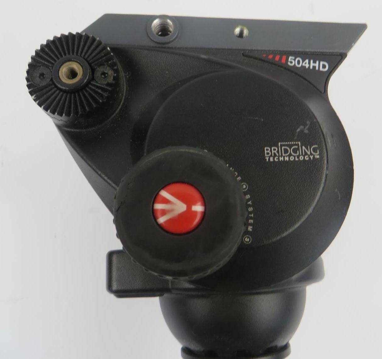 Short Locking Handle fr Manfrotto MVH500A MVH502A 504HD 526 509HD 519 Fluid Head