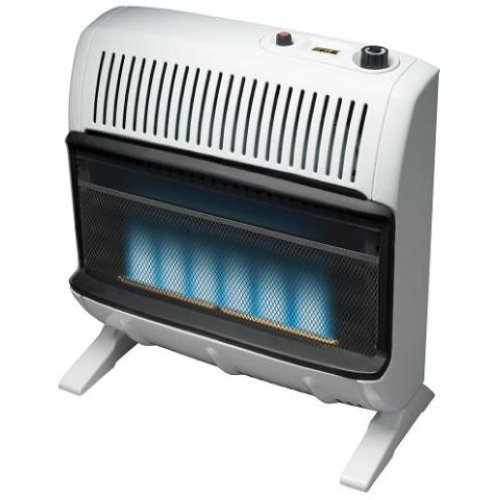 Gas Space Heaters With Blowers : K vent free blue flame propane wall space heater ebay