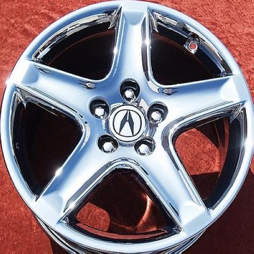 "SET OF 4 CHROME 17"" ACURA TL OEM FACTORY WHEELS RIMS RL"