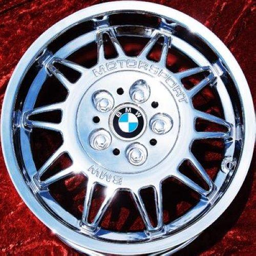Set Of 4 Chrome 17 Quot Bmw M3 Motorsport E36 Oem Wheels Rims