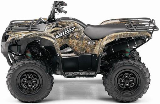 Camo shock covers yamaha grizzly 350 400 450 660 700 ebay for Yamaha grizzly 400