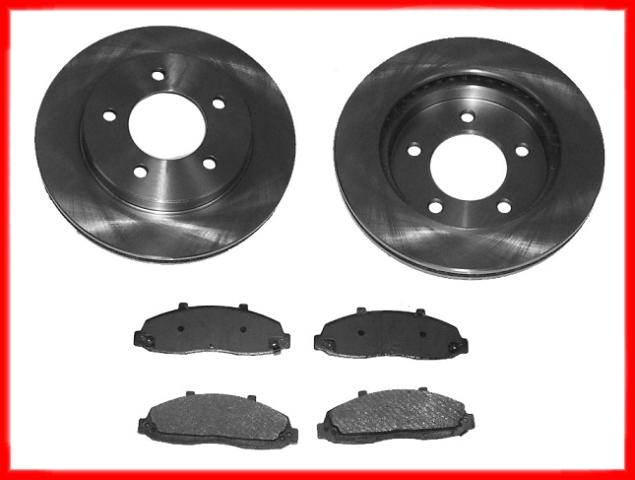 on 1996 Ford F 150 Front Rotor