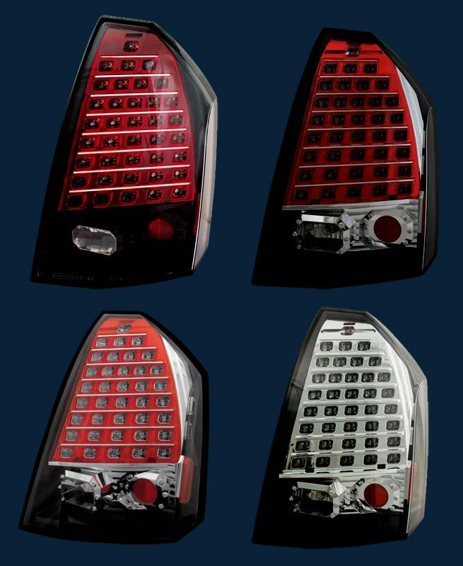 '05-07 Chrysler 300C L.E.D. Altezza Tail Lights IPCW