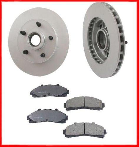 03 06 ford ranger 2w d front brake rotors pads new. Black Bedroom Furniture Sets. Home Design Ideas