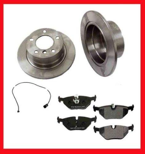 96 02 Bmw Z3 1 9l 2 8l 3 0l 2 Rr Brake Rotors Amp Ceramic
