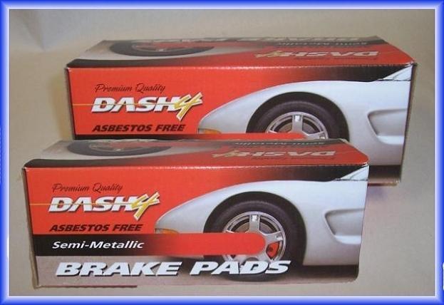 Front Rear Metallic Brake Pads for 2005-2009 Buick LaCrosse 2005-2008 Grand Prix