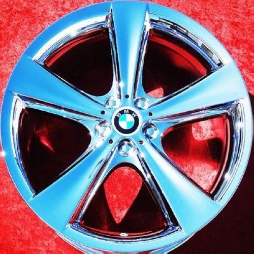"""Set Of 4 Chrome 21"""" BMW 745i 750i 750Li 760i 760Li Alpina"""