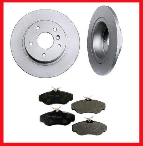 04-08 Acura TSX Rear Brake Disc Rotor Rotors & Pads