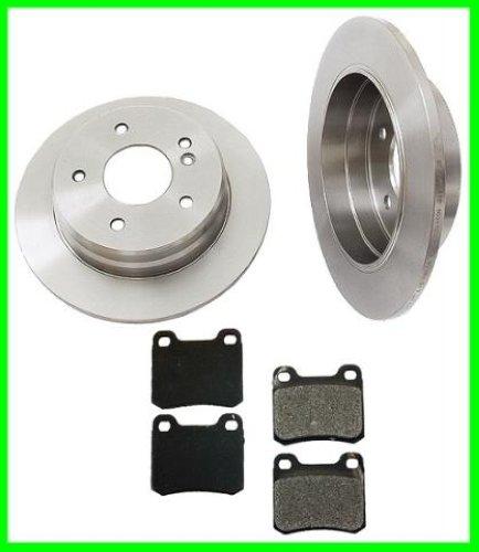 94 95 96 mercedes c220 c280 rear brake rotors pads ebay. Black Bedroom Furniture Sets. Home Design Ideas
