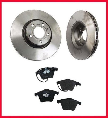 Audi A6 & A6 Quattro (2) 321MM Front Brake Rotors And