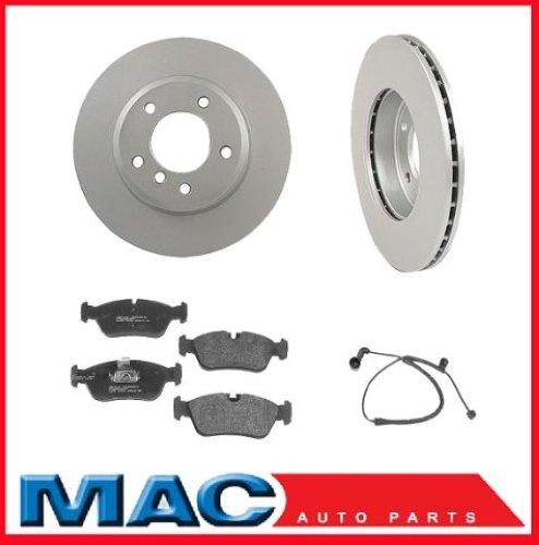 Bmw Z4 Brake Pad Replacement: BMW 325 328 Z3 Z4 (2) Front Brake Rotors & Pads & Sensor