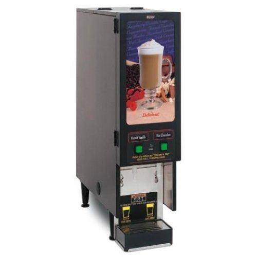 bunn 2 flavor cappuccino hot chocolate machine new ebay. Black Bedroom Furniture Sets. Home Design Ideas