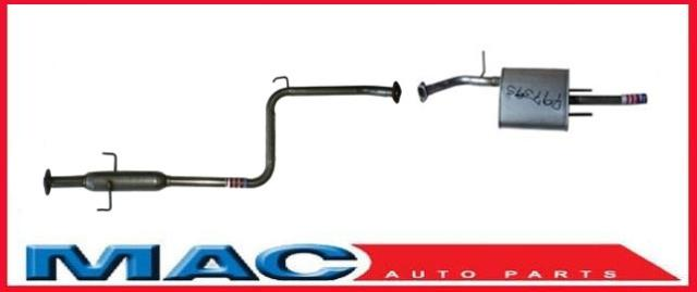 Toyota Corolla 1 6l Muffler Exhaust System With California