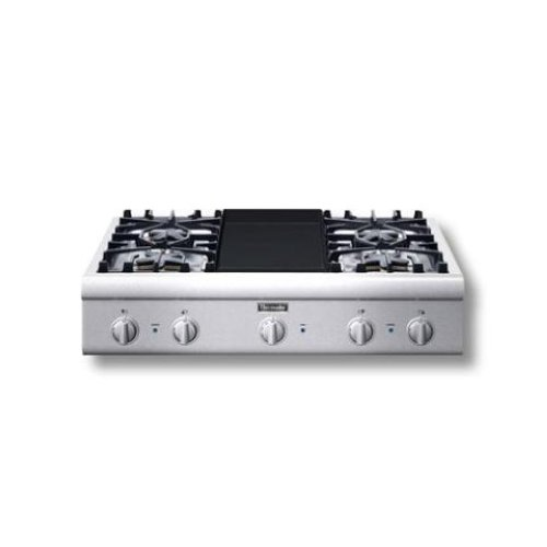 Thermador Pcg364ed Professional 36 034 Gas Cooktop Ss Ebay
