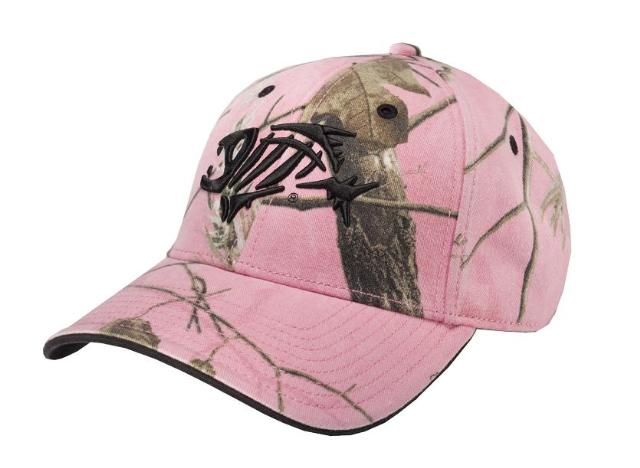 G loomis skeleton fish pink camo hat 2010 just in ebay for Pink camo fishing pole
