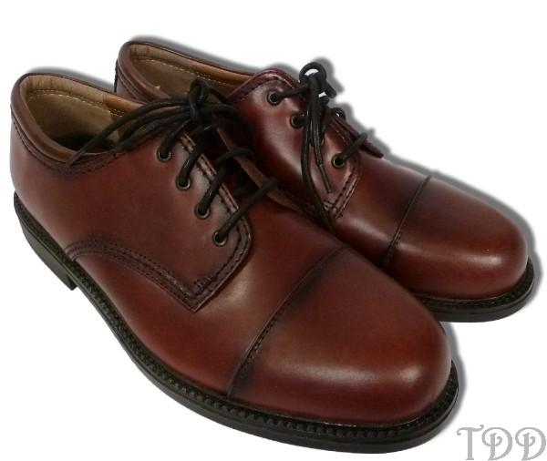 new mens dockers brown leather oxford dress shoes 10 w ebay