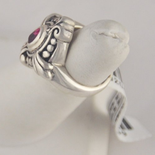 Bjc Behnam Jewelry Co Sterling Silver Pink Tourmaline Ring