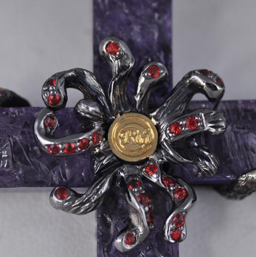 Robert Wander Cross Purple Amethyst Sapphire Enhancer