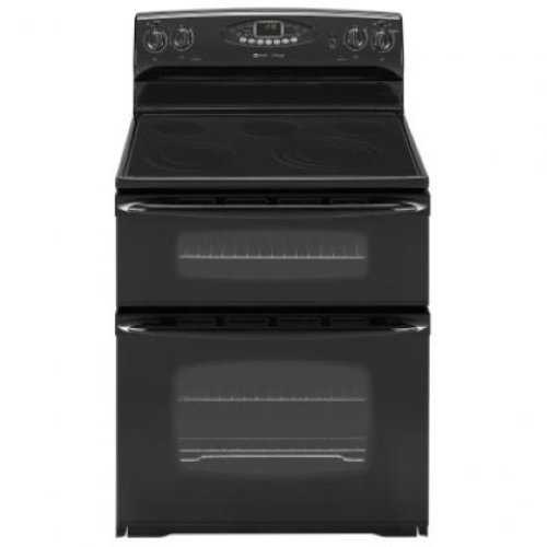 details about maytag gemini 30 smoothtop electric double oven range