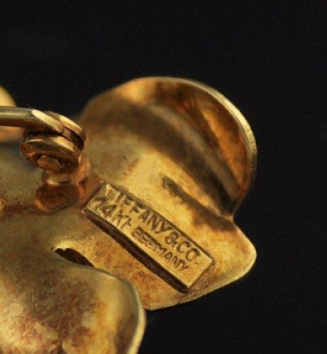 Vintage Tiffany Amp Co 14k Gold Flower Brooch Pin Estate Ebay