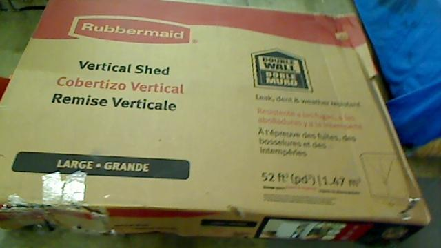 Details about Rubbermaid 3746 Vertical Storage Shed, 52-Cu Ft $445.99