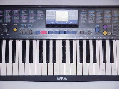 yamaha psr 78 electronic keyboard organ ebay. Black Bedroom Furniture Sets. Home Design Ideas