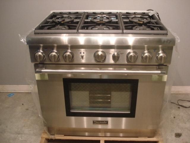 Thermador 36 Pro Style Gas Range Stainless Steel Ebay