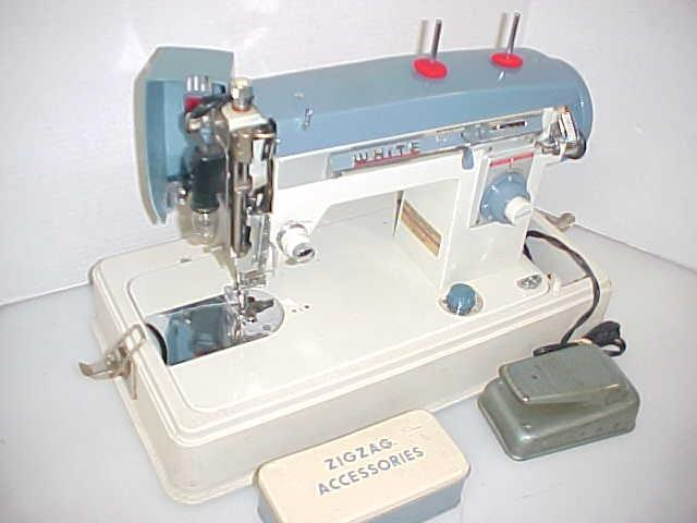white sewing machine model 265