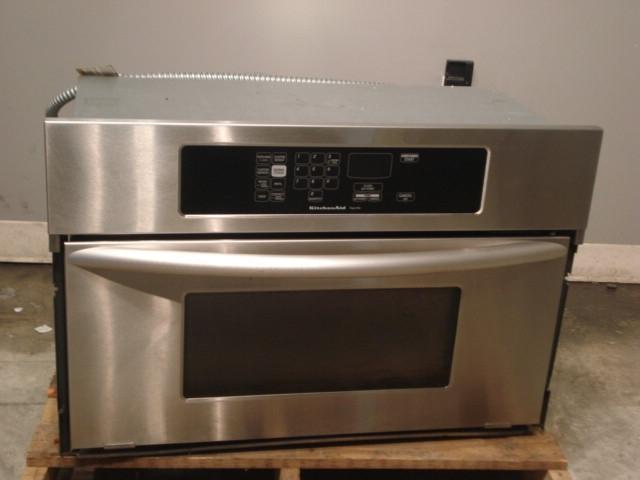 Kitchenaid 1 4 Cu Ft Built In Microwave Oven Kbhc109jss Ebay