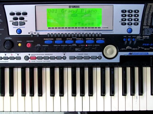 Yamaha portatone model psr 540 eletronic keyboard ebay for Yamaha portatone keyboard