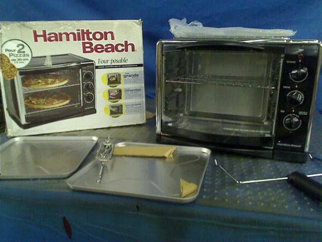 Hamilton Beach Countertop Convection Oven 31197 : Details about Hamilton Beach 31197 Countertop Oven with Convection and ...