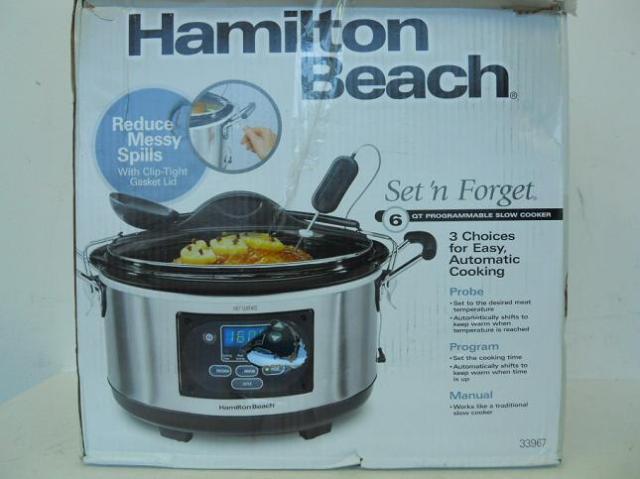 hamilton beach set and forget manual