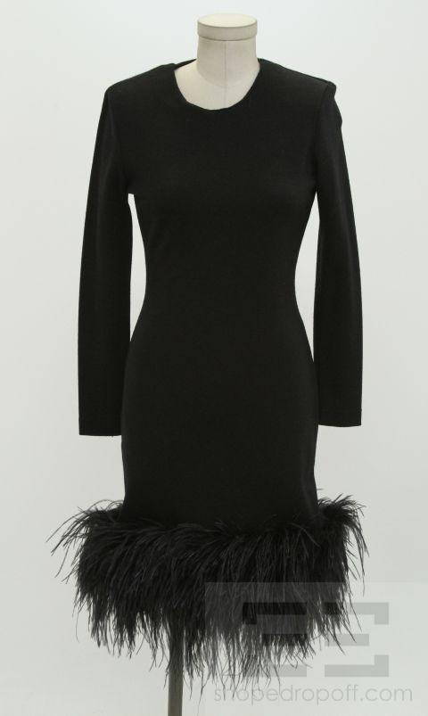 feather hem dress the dress shop
