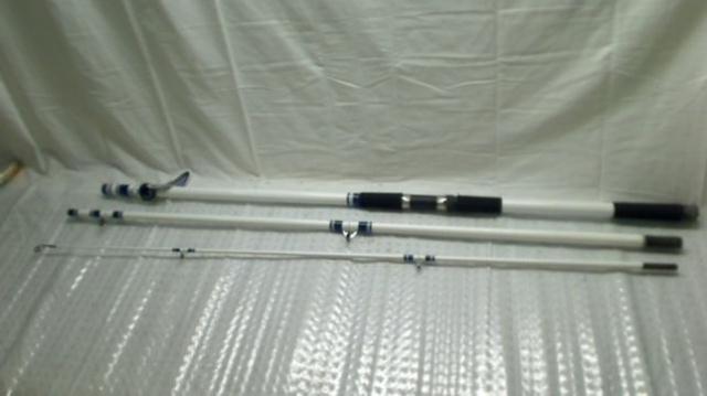 Okuma fishing tundra 15 foot 3 piece surf pier spinning for Best pier fishing rod