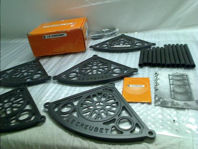 Le Creuset 5 Tier Cast Iron Cookware Stand