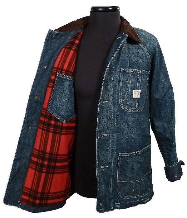 Nwt 365 Polo Ralph Lauren Mens L Denim Barn Coat Jacket