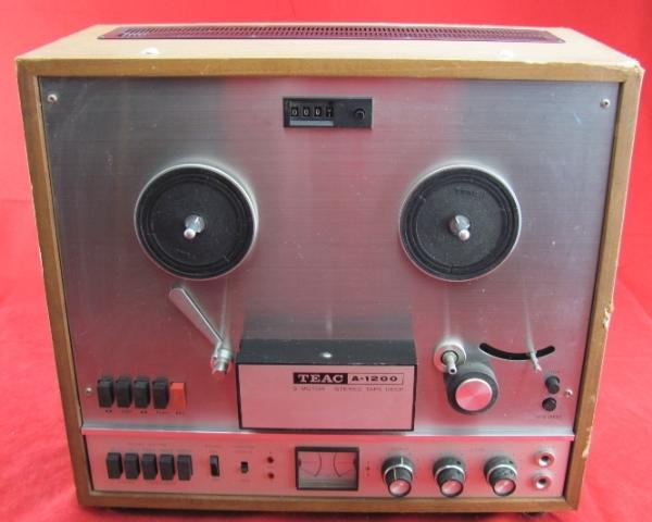 Teac A 1200 3 Motor Stereo Tape Deck Reel To Reel Recorder