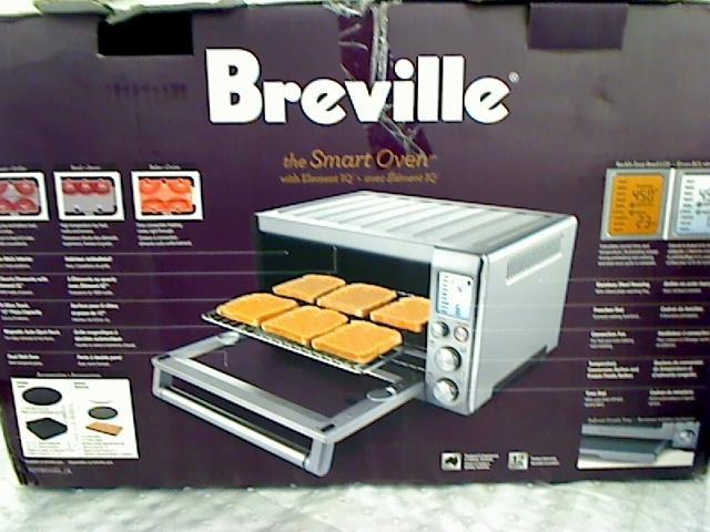 Breville Countertop Convection Oven Accessories : Breville The Smart Oven 1800-Watt Convection Toaster Oven with Element ...