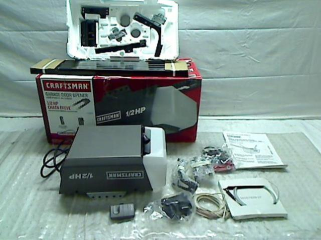 Craftsman 1 2 Hp Garage Door Opener Chain Drive 53920 Ebay