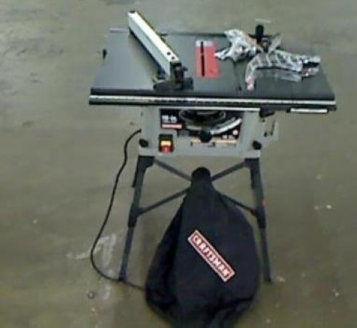 Craftsman 10 15 amp industrial bench table saw 28462 for 99 table saw
