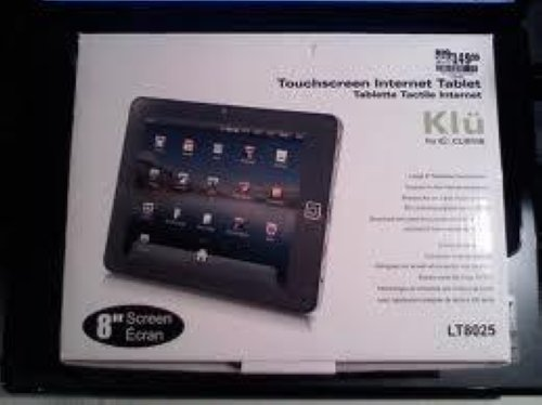 """Details about Curtis Klu LT8025 Tablet 8"""" Screen Wi-Fi w/HDMI Front"""