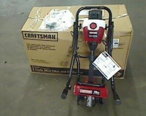 Craftsman Tiller Plow : Craftsman cc mini tiller cultivator ebay
