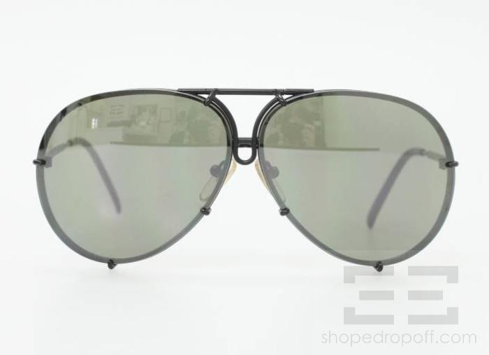 porsche design eyewear p 8000 black titanium frame