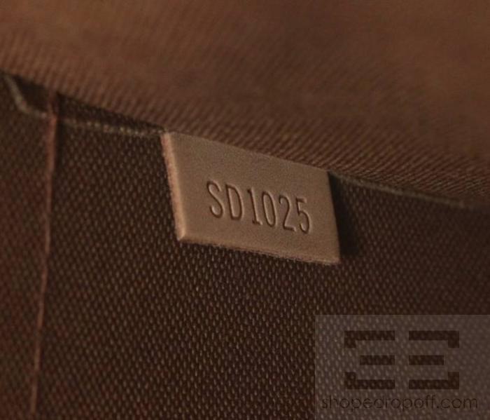 louis vuitton brown monogram canvas poppincourt handbag