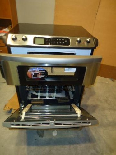 Sharp 30 Slide In Electric Range With Microwave Drawer Kb4425ls