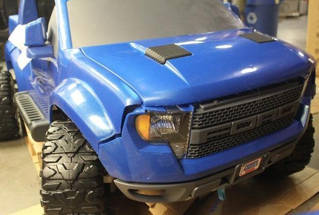 fisher price power wheels ford f 150 kid toy raptor 12v. Black Bedroom Furniture Sets. Home Design Ideas