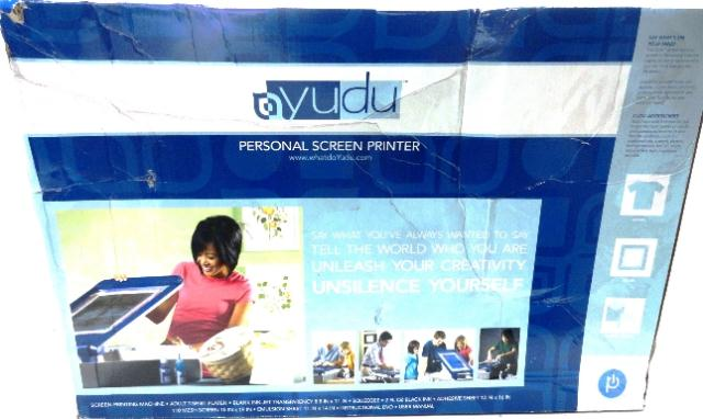yudu silk screening machine