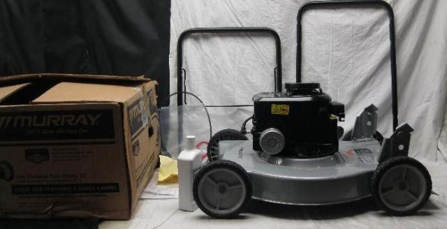 20 Inch Murray Lawn Mower : Murray  inch side discharge push lawn mower